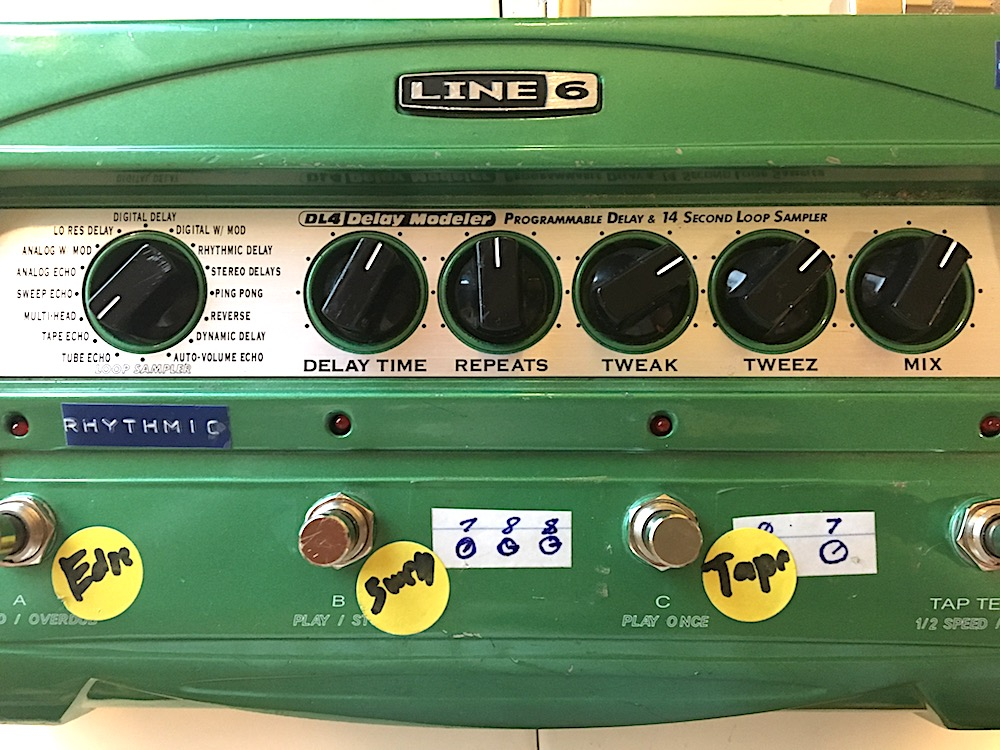 Line 6 DL4 Delay Settings 2
