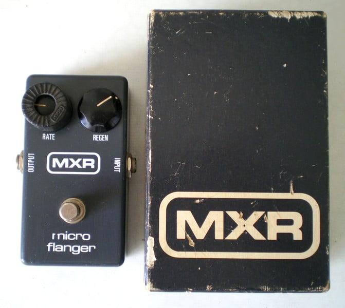 MXR Micro Flanger