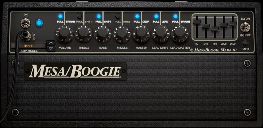 Mesa Boogie Metal Amp Settings Example