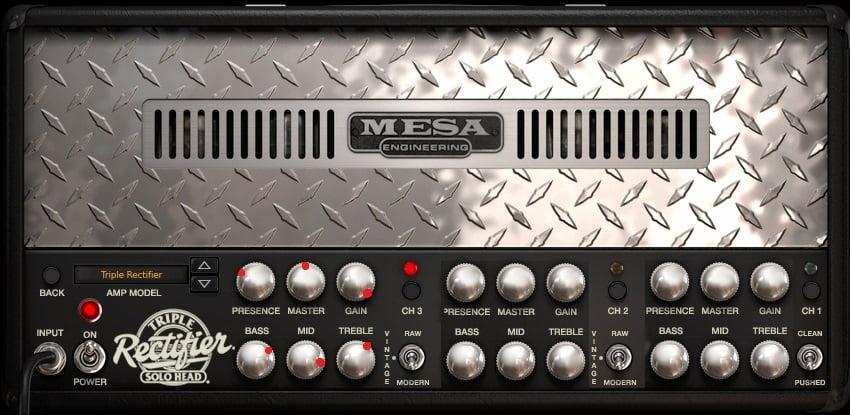 Mesa Boogie Triple Rectifier Amp Settings