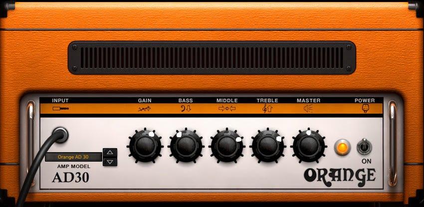 Orange Amp Settings