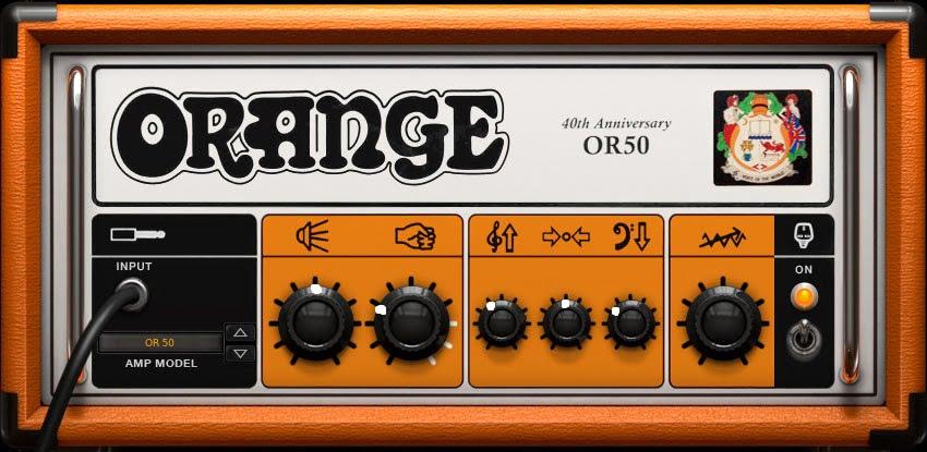 Orange OR50 Amp Settings