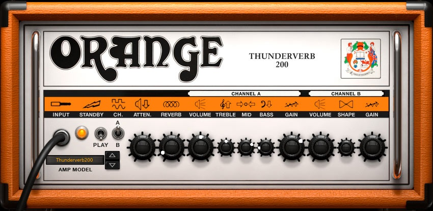 Orange Thunderverb Amp Settings
