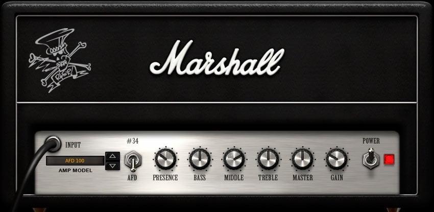 Slash Marshall Amp Settings