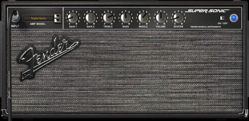 The Edge Amp Settings Fender Example