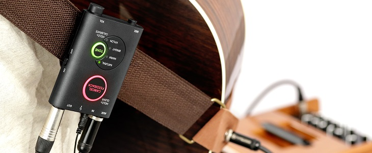 Recording Acoustic Guitar in GarageBand Using the iRig Acoustic Stage