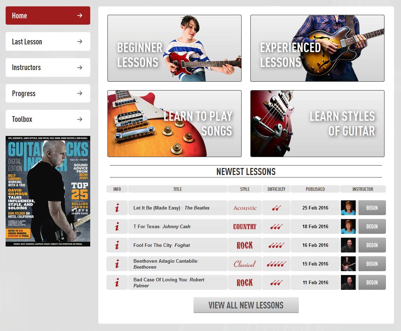 Guitar Tricks Guitar Lessons for Online Roundup