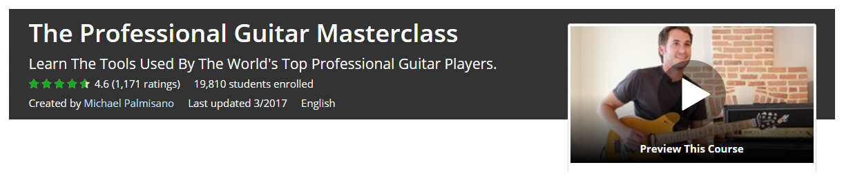 The Professional Guitar Masterclass  Udemy  YouTube