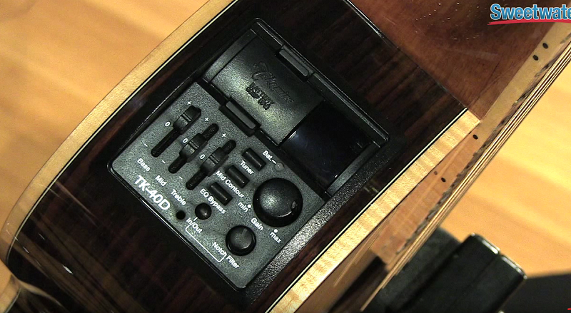 Takamine Acoustic Guitar Preamp TK-40D