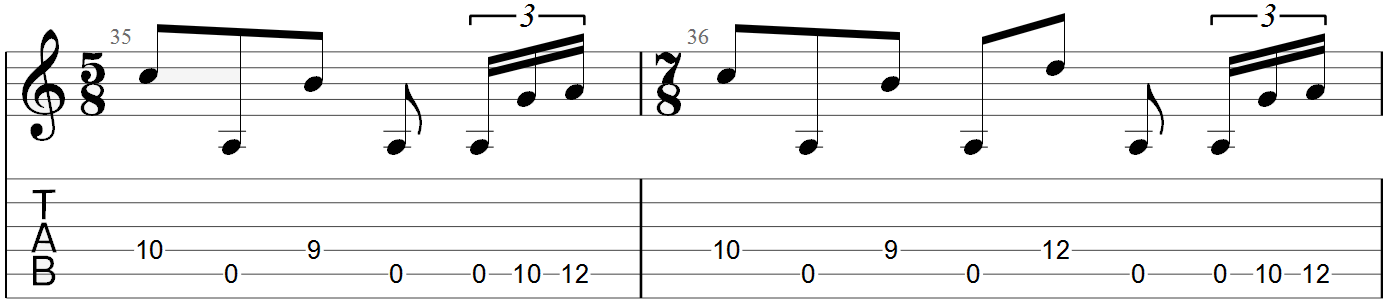 Tool Schism Guitar Tab