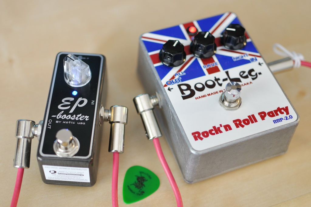 Booster and Distortion Pedal
