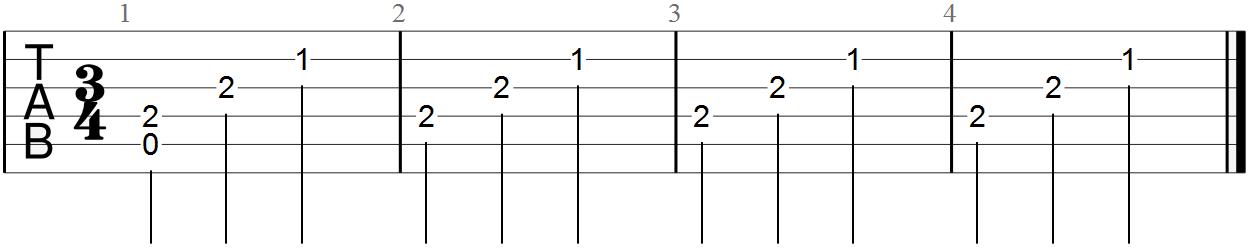 Classical Guitar Tabs (Moonlight Sonata)