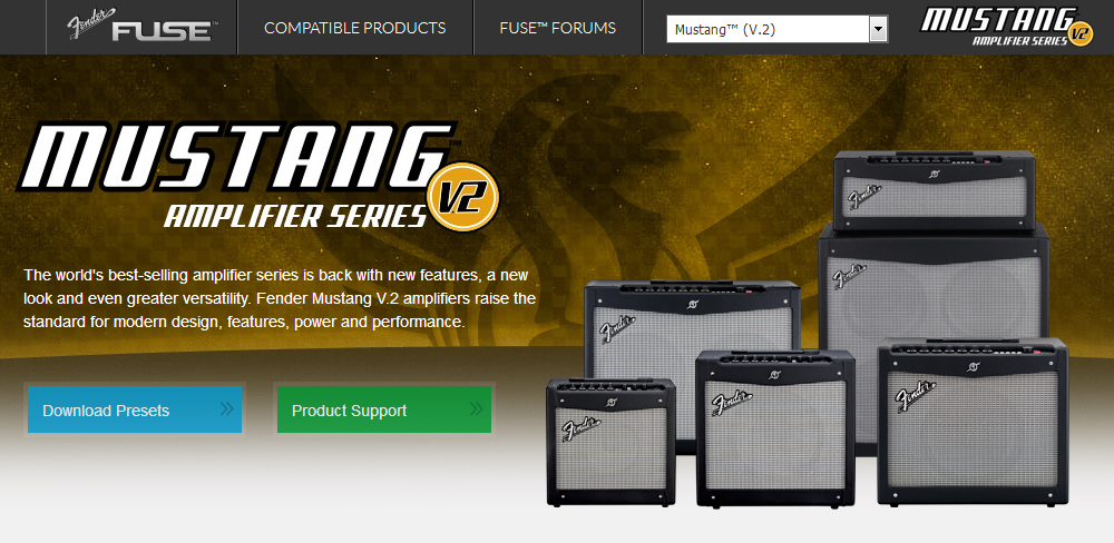 Fender Mustang V.2 Muse Software