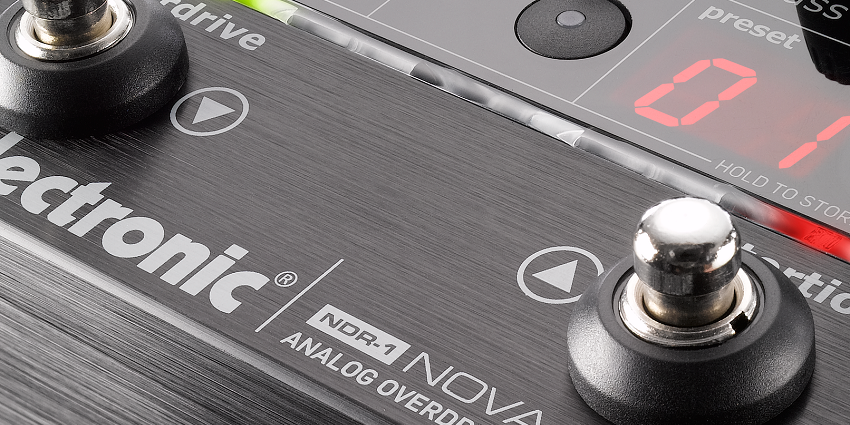 TC Electronic NDR-1 Overdrive MIDI Pedal
