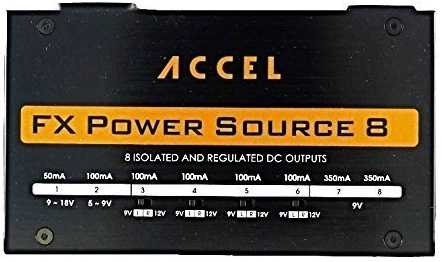 Accel Isolated Output Pedalboard Power Supply