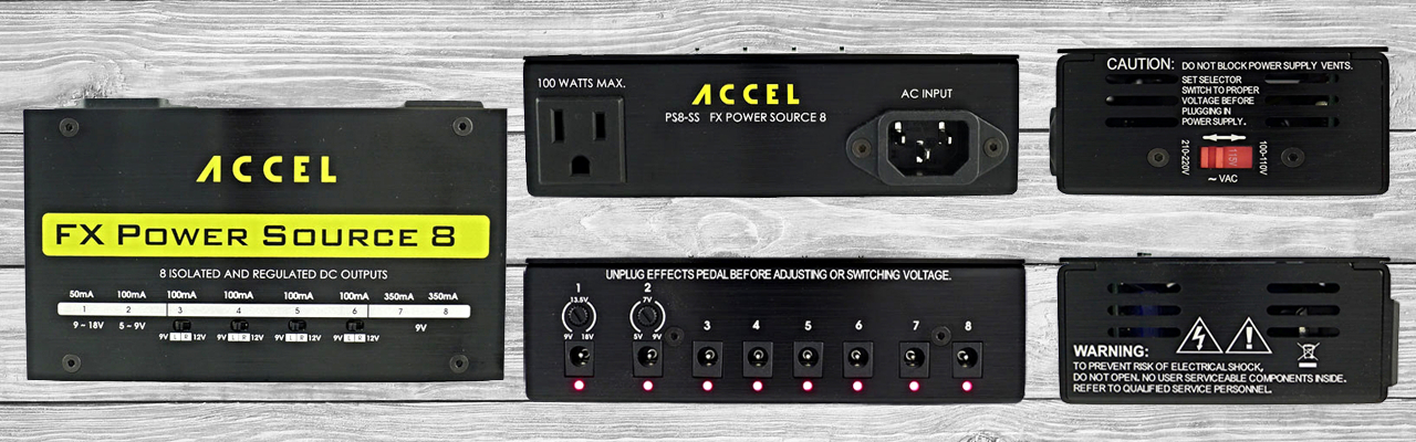 Accel Isolated Power Supply Photos