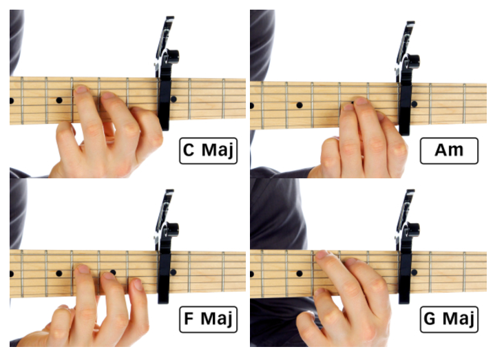 Capo Chord Examples