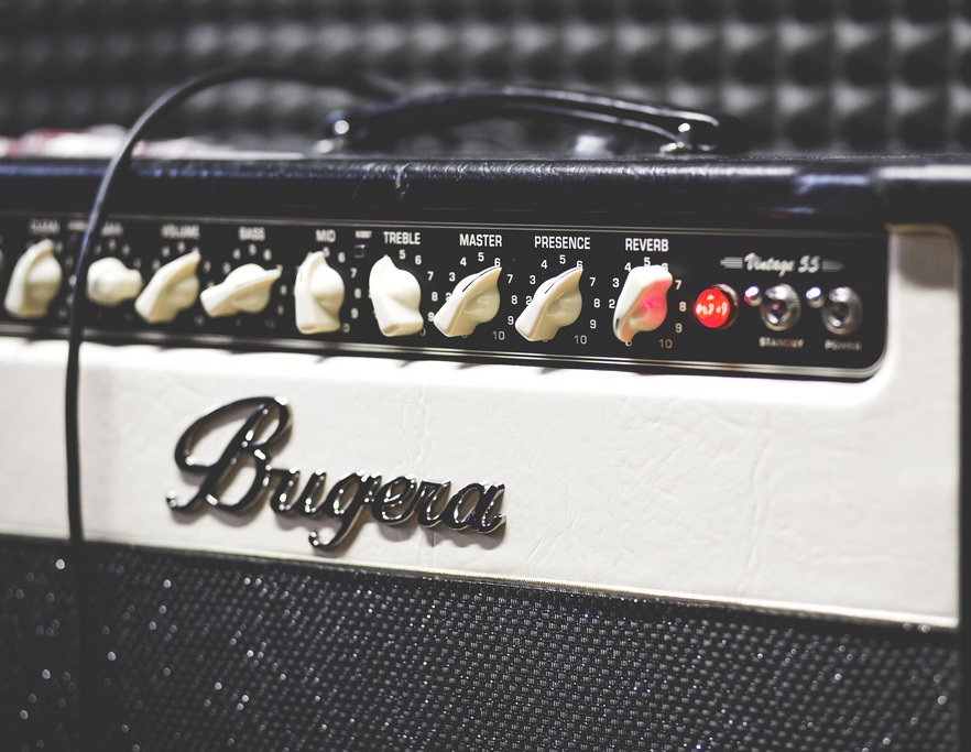Guitar Amp Volume Section Header Photo