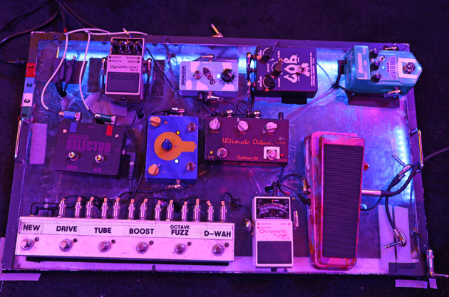 Jonny Lang's Pedalboard and Pedal Settings