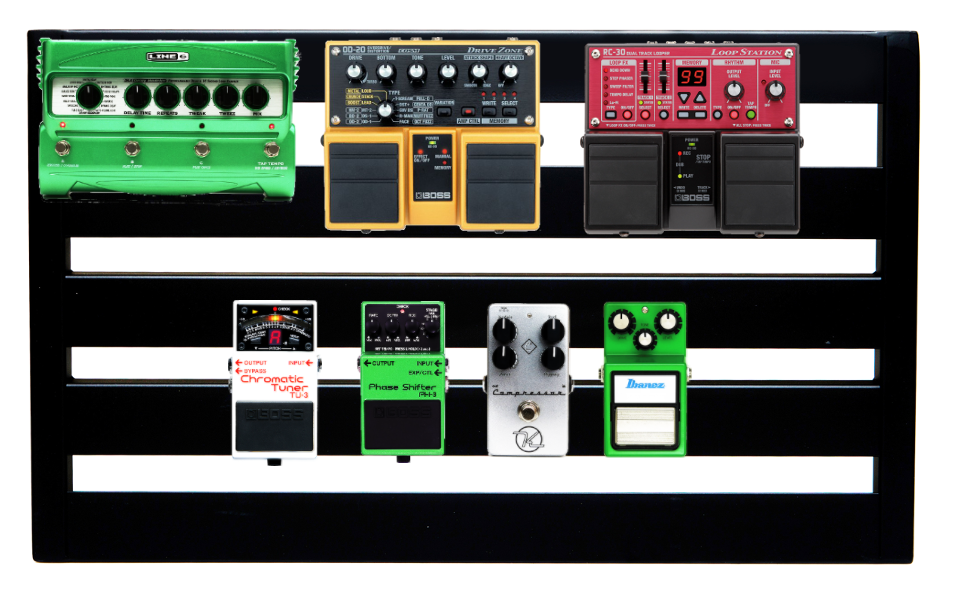 Pedaltrain Board Built with Pedalboard Planner