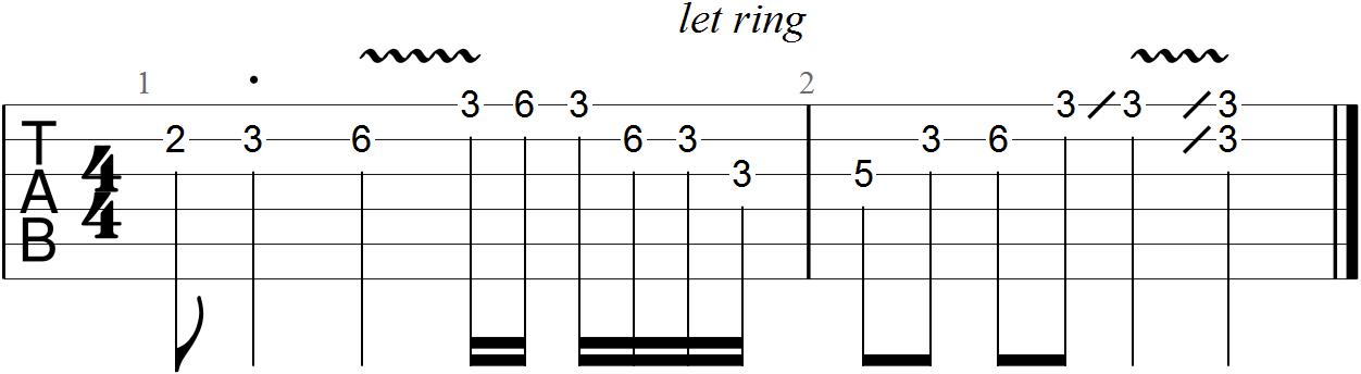 Pentatonic Guitar Scale Solo