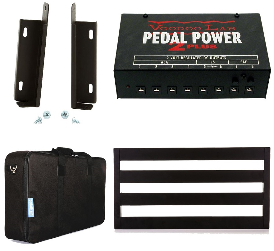 Voodoo Lab Pedal Power 2 Mounting Guide 0