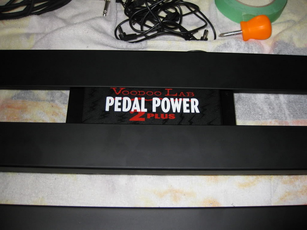Voodoo Lab Pedal Power 2 Mounting Guide 12