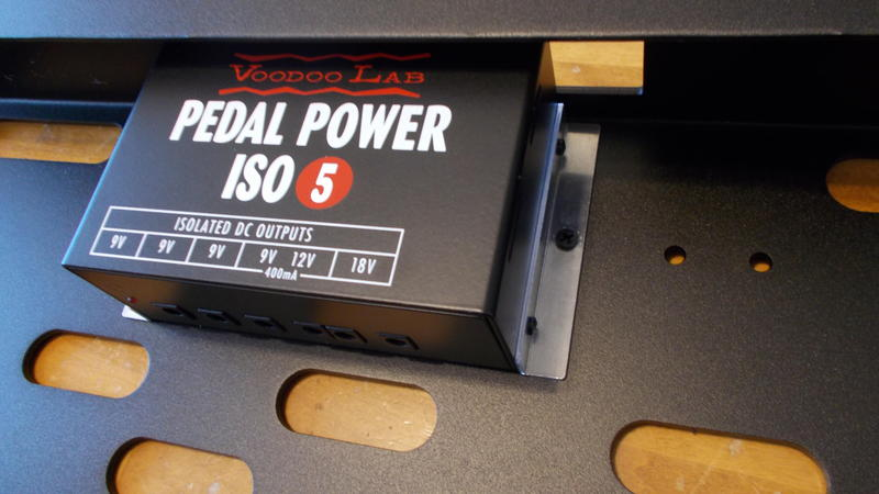 Voodoo Lab Pedal Power ISO-5 Mounting