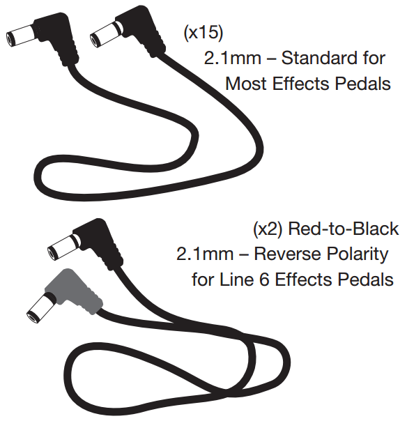 Walrus Audio Phoenix 15 Power Supply Cables