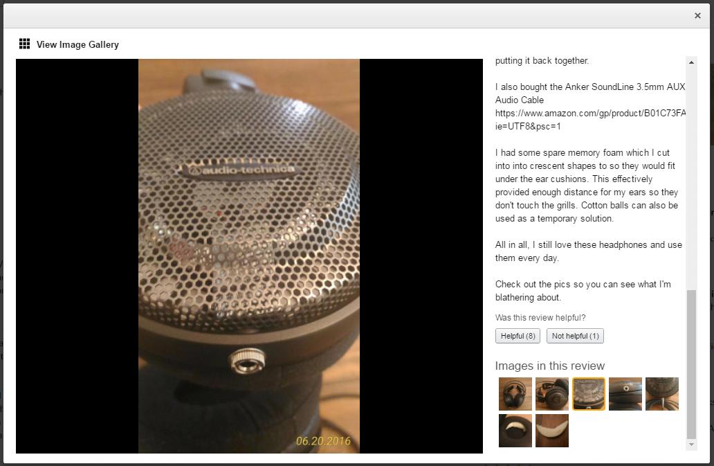 Audio Technica ATH AD500X Headphone Mod