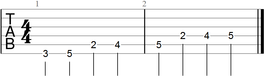Basic Scale Diagram