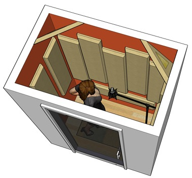 Vocal Recording Booth Example