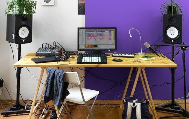 Ableton Live and Push Physical Setup