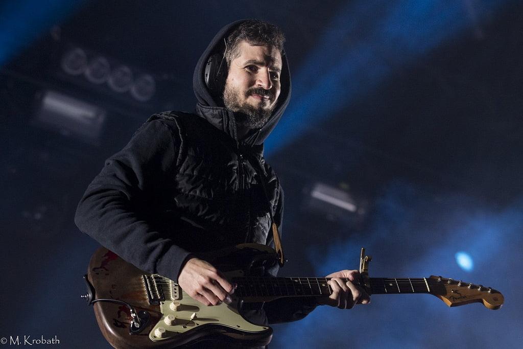 Brad Delson of Linkin Park