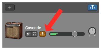 Cascade Amp Model in GarageBand