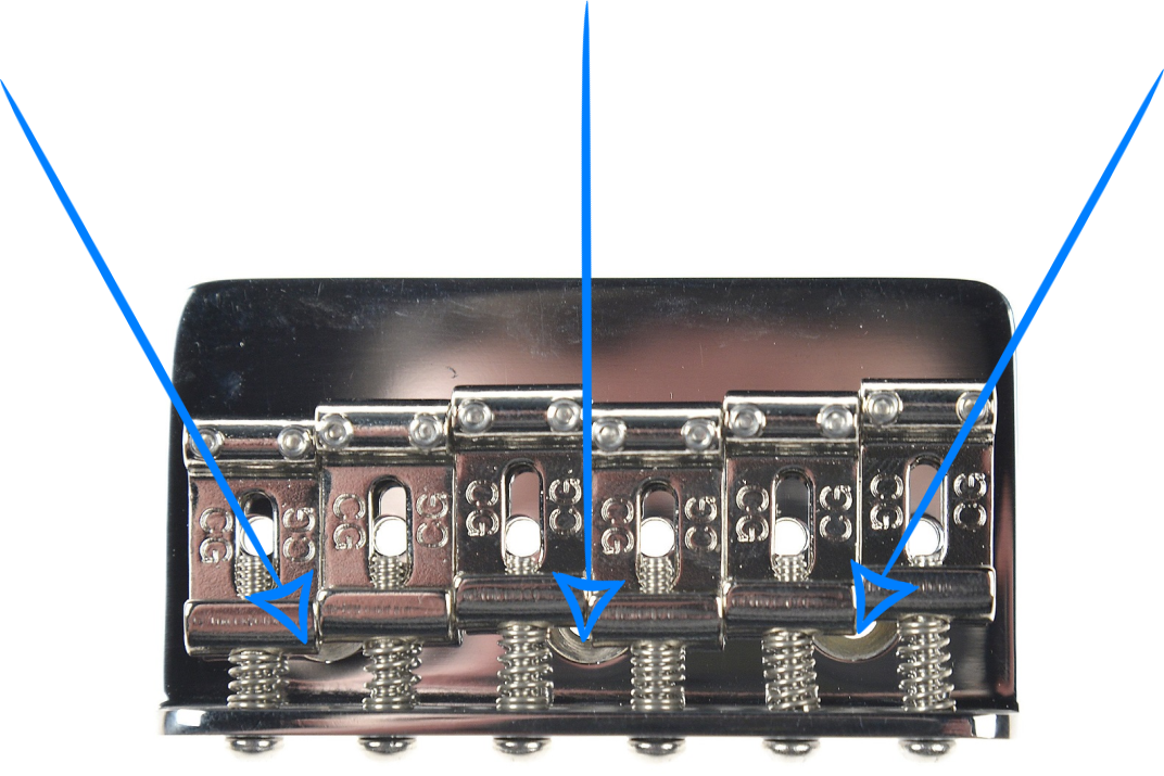 Telecaster Hardtail Bridge Screw Locations