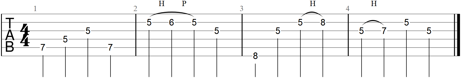 C Major Arpeggiated Melody