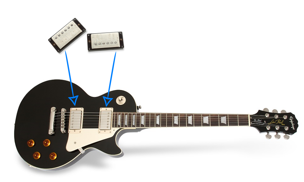 upgrading a cheap epiphone les paul standard electric guitar. Black Bedroom Furniture Sets. Home Design Ideas