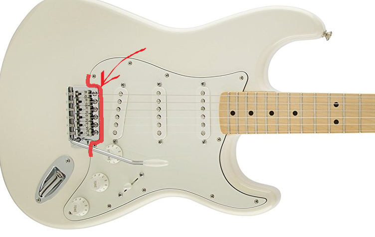 Fender Stratocaster Bridge Upgrade