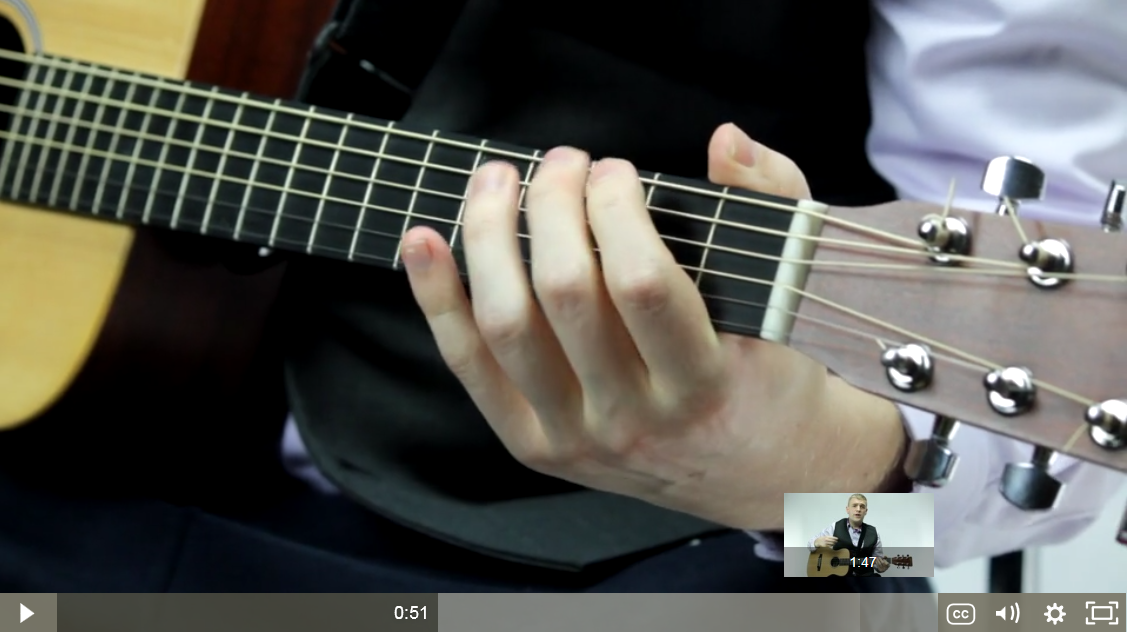 Hub Guitar Video Example