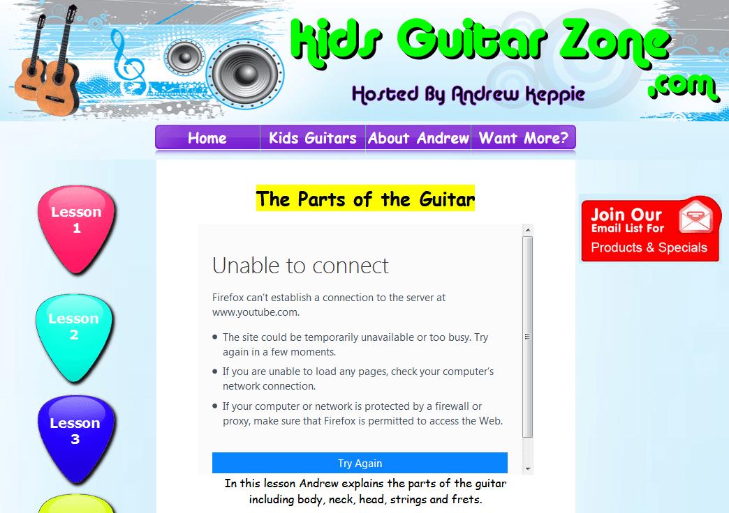 Kids Guitar Zone Screenshot