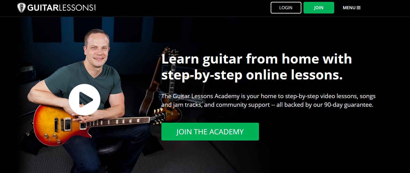 Nate Savage Guitar Lessons Academy Home Page