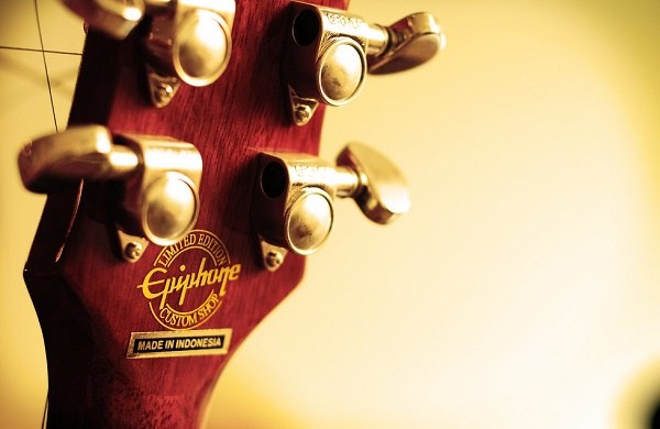 Epiphone Acoustic Guitar Headstock Photo