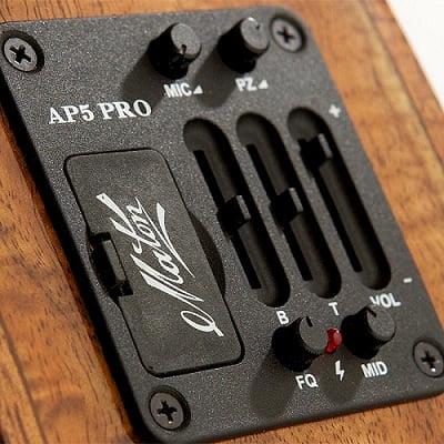Maton Ap5 Pro Pickup System Installed