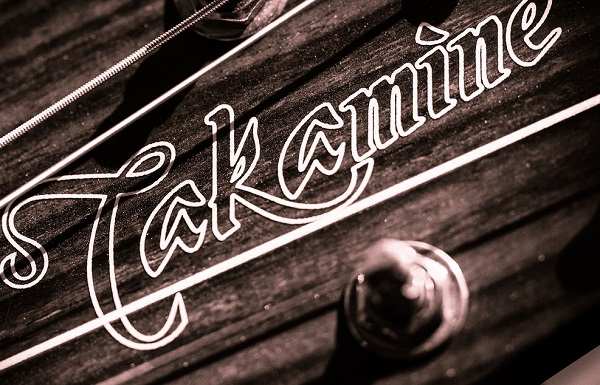 Takamine Acoustic Guitar Headstock